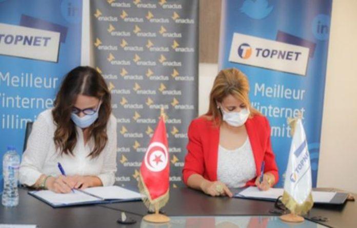 TOPNET et ENACTUS Tunisie signent un partenariat Stratégique
